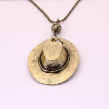 Korean Retro Western Cowboy Hat Men And Women Of Europe The United States Length Necklace