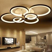 Nowoczesna Designerska Lampa Sufitowa LED