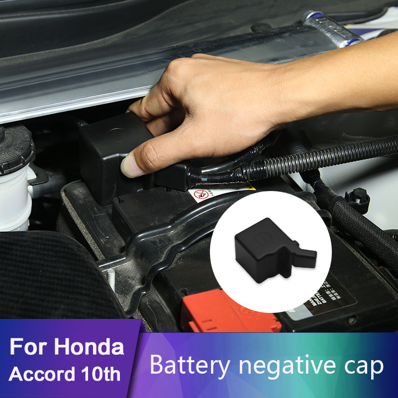 For <font><b>Honda</b></font> <font><b>Accord</b></font> 10th 2018 2019 <font><b>Car</b></font> <font><b>Battery</b></font> Electrode Waterproof Dustproof Protective Cover image