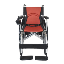 Orange Orthopedic Wheelchair Seat Cushion Lumbar Back Coccyx