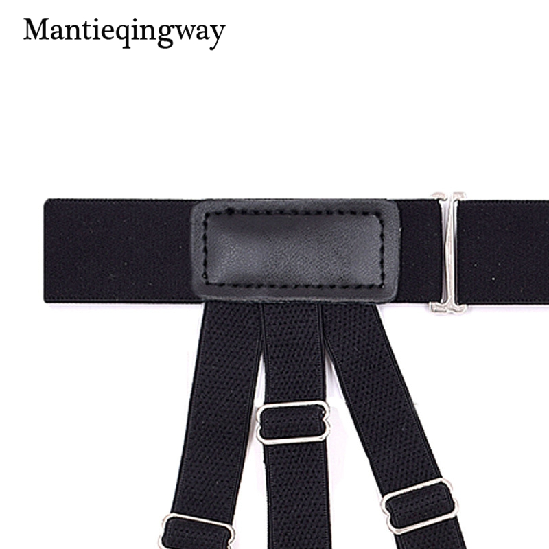 Apparel Accessories Mantieqingway Mens Adjustable Shirts Holders Harness Belts Bondage Belt Fashion Punk Strap Band Leg Adjustable Suspender Straps