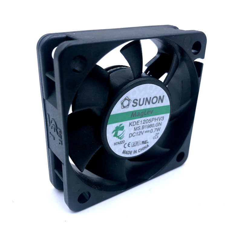 1pc SUNON  KDE1205PHV2 fan 5015 3pin 12V 1.0W