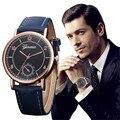 КЛАУДИЯ Известная Марка Кварцевые Часы Мужчины Часы 2016 Мужской Часы Наручные Часы Кварцевые часы Relogio Masculino Горячие продажа Reloj Hombre
