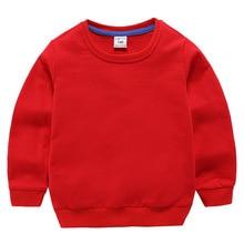 11 Solid Color Cotton Kids Hoodies Long Sleeve Children Hoodie 12M-8T Autumn Winter Boys Girlls Sweatshirt Bluzy Dla Dzieci beatrix podolska rytmika dla dzieci