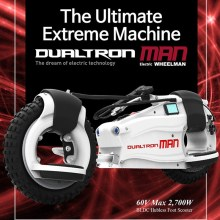 Dualtron Man EX+ Electric scooter with max 2700W most powerful Electric Wheel man