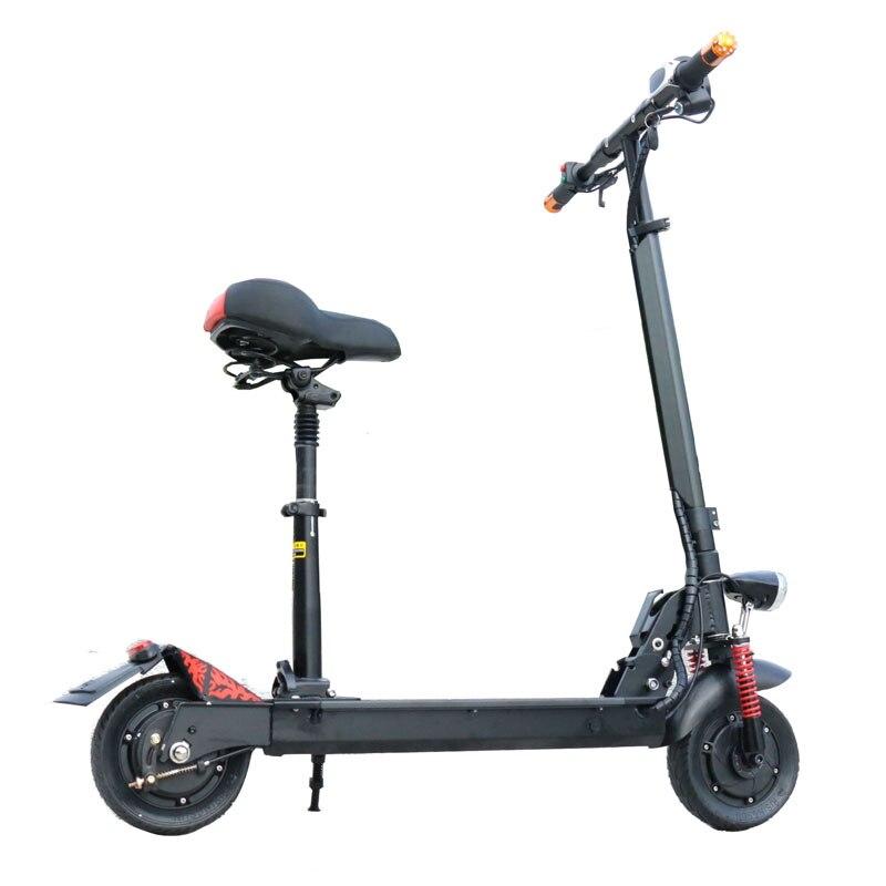 Scooter électrique de Longboard de Scooter électrique puissant de 350 W Mini Scooter électrique adulte Scooter électrique pliable de dérive Scooter léger - 6
