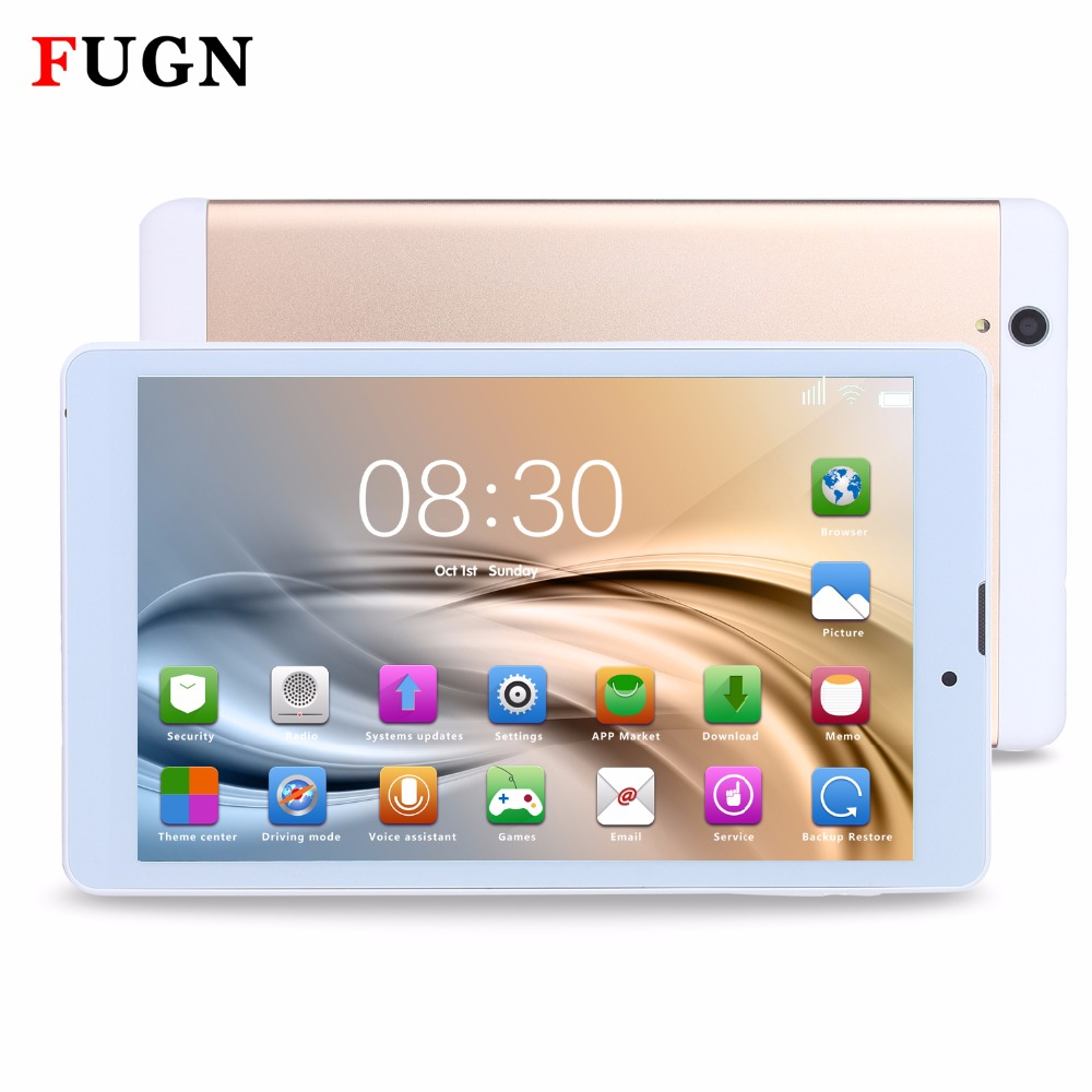"FUGN 8 inch Kids Android Tablet PC GPS WiFi 3G SIM Phone Call Dual Cameras Graphics Drawing Tablet 4G+32G Smart Tablet 7"" Light"