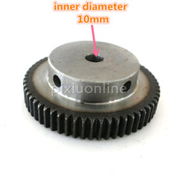 J549b Module 1 Firm DIY Model Making Gears Inner Hole Diameter 10mm Large 45 Steel Gears