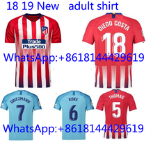 fbad29bb6 2018 Thai football jerseys Quality Atleticoed Madrided soccer Jersey Shirts  ADULT suit Home Away 3RD(. 18 Colors Available