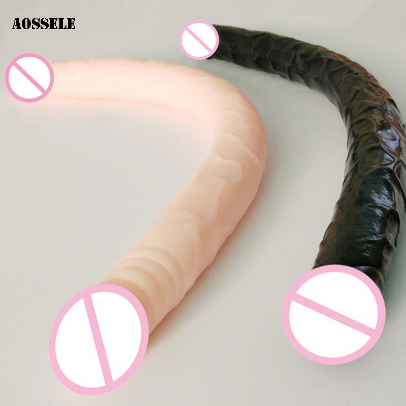 21Inch Silicone Big Dildos Realistic Double Huge Dildo Long Penis Sex Toys For Woman Dick Adult Sextoys Anal Dildo For Women realistic big skin dildo vibrators for women silicone flexible penis dick huge dildos cock adult sex products sex toys for women