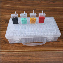 High Quality Diamond Painting Tool Container Diamond Embroidery Stone Storage Accessory Mosaic Convenience Box With Free Sticker
