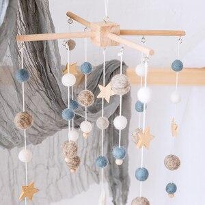 Wooden Baby Stars Rattles Mobi