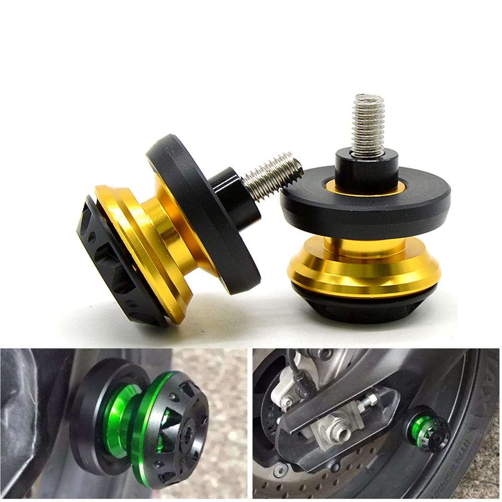 For Ducati S2R 1000 ST2 ST3 ST4 S 1100S 1092 848 Motorcycle Accessories Swingarm Spools Sliders Stand Screws Bolts