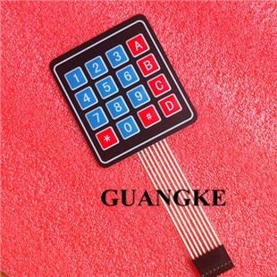 50pcs/lot 4*4 Matrix Array/Matrix Keyboard 16 Key Membrane Switch Keypad