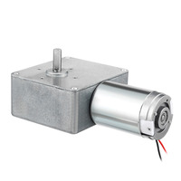 UXCELL Hot Selling 1PCS DC12V 30RPM Carbon Brushes Worm Gear Motor Reduction 20 x 8mm High Torque Reversible Turbine