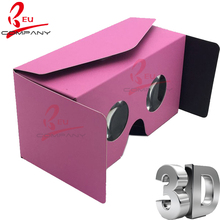 Free shipping  3D Glasses Google cardboard  VR 2.0