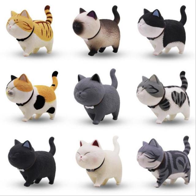 Vente Dessin Animé Chat Kawaii Figurine Modèle Cadeau Jouets