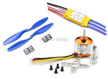 High Quality 2212 1000KV Brushless Motor w/30A Brushless ESC and 1 Pair 1045 Propeller for F450 F550 Quadcopter FPV Part