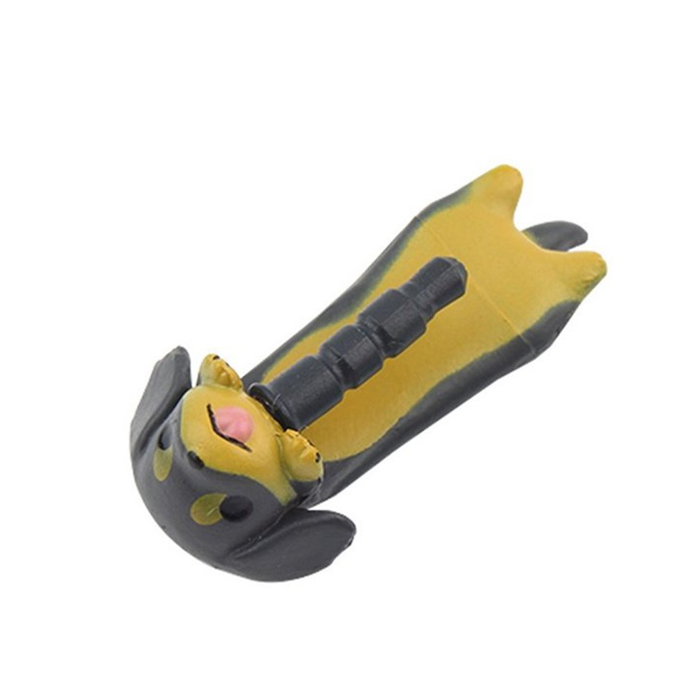 8 Pcs 3.5mm Dachshund Puppy Dog Dust Plug Cell Phone Ear Ant