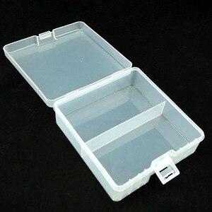 Image 5 - 1Pcs Draagbare Batterij Houder Organizer Voor 100 Stuks Aa Batterijen 14500 Batterij Case Cover Houder Opbergdoos Plastic Transparante