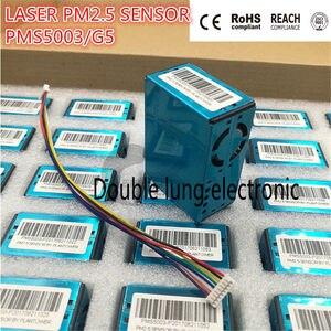 Датчик частиц/пыли PM2.5, лазер внутри, цифровой модуль вывода, очиститель воздуха G5/PMS5003, высокоточный лазер pm2.5, датчик