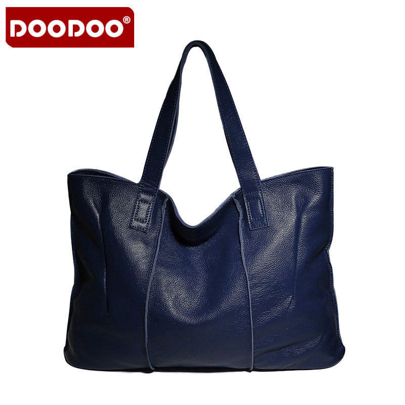 New 100% Genuine Leather Bag Large Women Leather Handbags Famous Brand Women Messenger Bags Big Ladies Shoulder Bag Bolsos Mujer