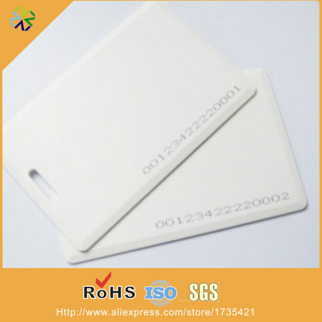 Calendars, Planners & Cards Back To Search Resultsoffice & School Supplies Low Frequency Plastic Blank 125khz Tk4100 Blank Chip Card