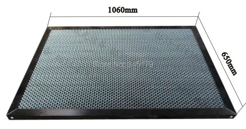 The honeycomb table 1060mm X 650mm for co2 laser engrave machine work table machine platform