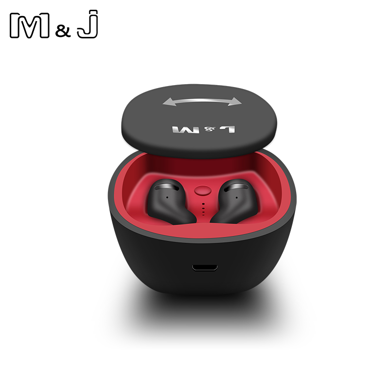 M&J TWS Bluetooth 5.0 Earphones And Earbuds With Mic For Handsfree Call 18