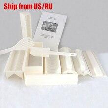 Freies verschiffen 11 stücke DIY Sushi Master Maker Reis Form Küche Sushi-herstellung Machine Tool Set Perfekte Roller-hersteller