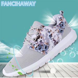 FANCIHAWAY Air Mesh Flyknit Medusa Shoes For Women Running Shoes Run cda10c3ce0