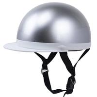 Light Weight Japanese Style Scooter Bike Helmet E Bike Motorcycle Helmet Open Face With Visor 57