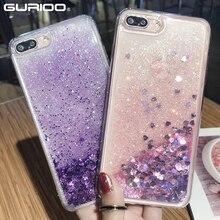 Moda Sıvı Glitter Kum Cep Samsung S6 S7 S8 S9 S10 A3 A5 A6 A7 A8 A9 Kenar Artı lite 2017 2018 Sequins Plastik Kılıf