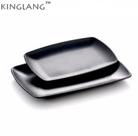 NEW Melamine High Quality Serving Tray Matte Food Platter Wholesale