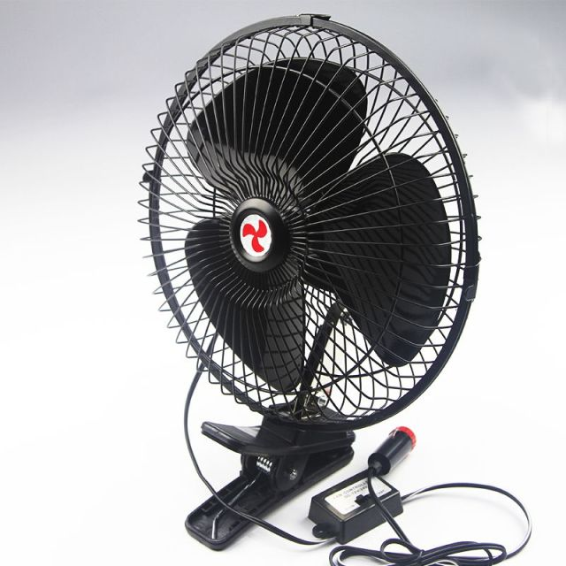 Large 12 Volt Fan : Car with a small fan electric v large truck van