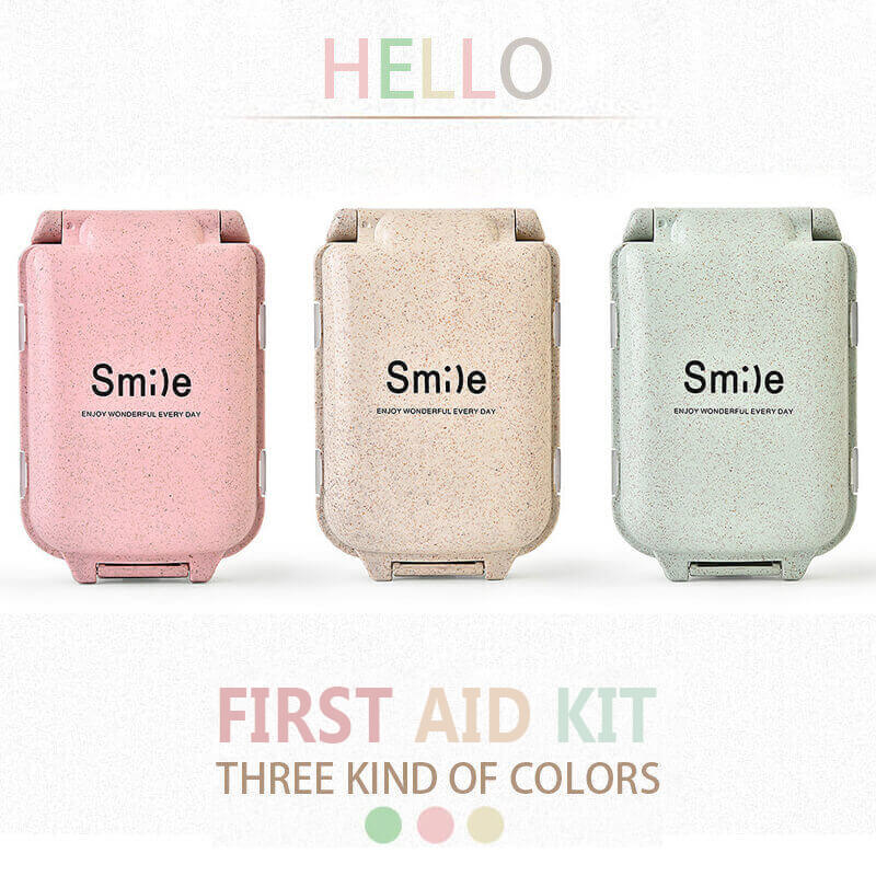 Mini Medicine Pill Bandage Box Outdoor Medical Bag Camping Tactical Military First Aid Kit Family Car Emergency Survival Kit Bag