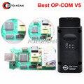 Лучший op-com OP com Оригинальный Чип op-com Диагностический Интерфейс Авто Diagostic Инструмент Для Opl V5 Версия Opcom OBD2 Сканер