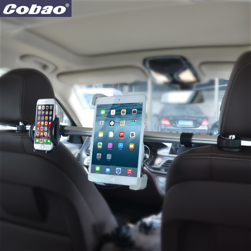 Universal aluminum 7 8 9 10 11 inch tablet PC stand high quality headrest tablet holder car holder suitable for ipad mini new 7 8 9 10 inch tablet car holder universal soporte tablet desktop windshield car mount cradle for ipad stand for samsung tab