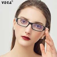 VEGA PC Eyeglasses Anti Glare Computer Glasses Pixel Women Men Best Blue Light Blocking Gaming Glasses PC Glasses 217