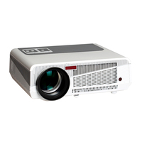 Android 4 2 2 Full HD Daytime LCD 3D Wifi Projector With 220W 4500lumens LED 86