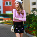 Dabuwawa корея стиль о шеи пуловер свитер