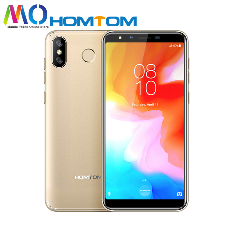 Global Version HOMTOM H5 Android 8 1 Mobile Phone Quad Core 5 7 13MP Dual Camera