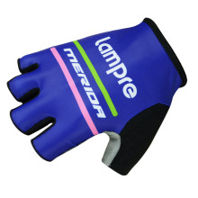 Lampre Pro Team Brand Mountain MTB Cycle Bike Sports Gloves Breathable Racing Bicycle ropa ciclismo Cycling Gloves L1602