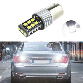 1x 1156 BA15S P21W LED Bulb 2835 SMD Car Back Up Reverse Lights For BMW 3/5 SERIES E30 E36 E46 E34 X3 X5 E53 E70 Z3 Z4 image