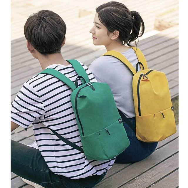 2020 New Xiaomi Colorful Mini Backpack Bag 8 Colors 2