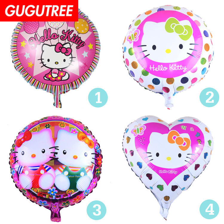 Decoration 18inch cats foil 10 pieces balloons wedding event christmas halloween festival birthday party HY-297