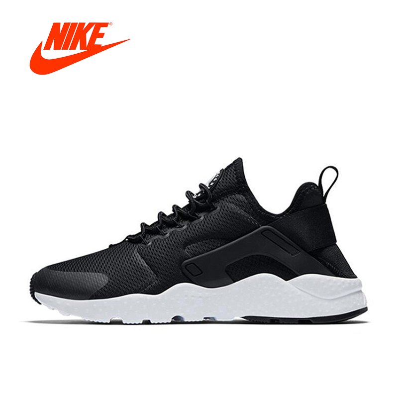 New Arrival Authentic Nike Air Huarache Run Women's Breathable Running Shoes Sports Sneakers athletic shoes nike roshe classic nike roshe run men mesh breathable running shoes sneakers trainers 511881 405