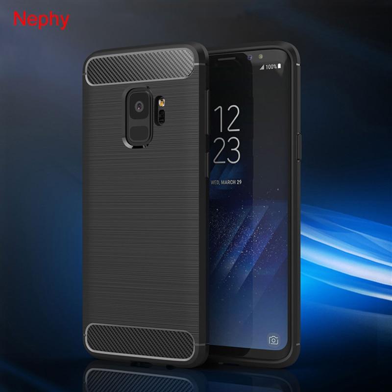 Carbon Fiber Case For Samsung Galaxy S9 S8 Plus S7 Edge Note 8 9 J7 Neo Max J2 J5 Prime J3 Pro A3 A5 A7 2017 A6 A8 J4 J6 J8 2018 nokia 8 new 2018