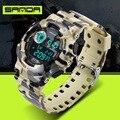 2016 Бренд мужской Цифровые часы G Стиль Моды Спорта На Открытом Воздухе Мужские Часы Швейцарские Часы Мужчины Военный Водонепроницаемый Цифровой часы