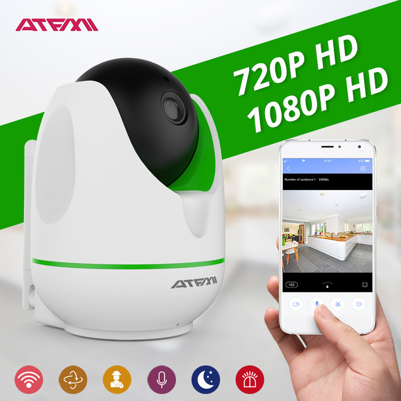 ATFMI 1MP 2MP HD Wireless IP Camera Wifi Night Vision Network Indoor Monitor CCTV P2P Onvif Pan/Tilt/Zoom Surveillance wholesale howell wireless security hd 960p wifi ip camera p2p pan tilt motion detection video baby monitor 2 way audio and ir night vision